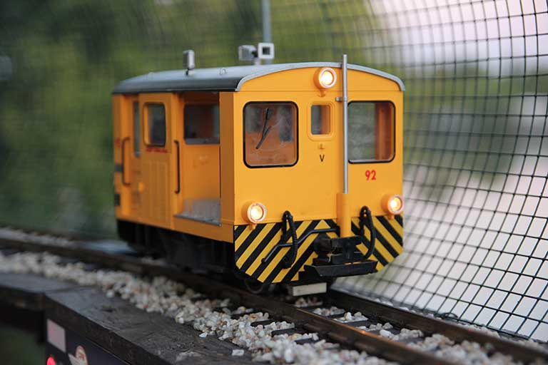 Yellow toy train